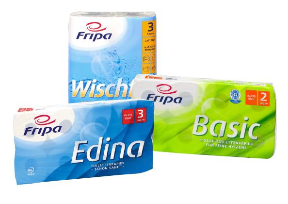 Pappersprinsen toalettpapper och hushållspapper